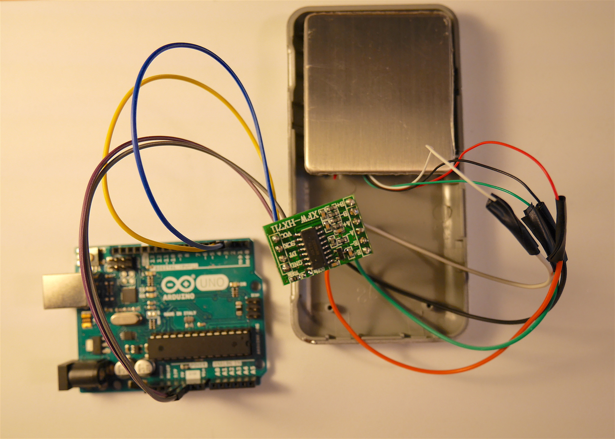 Building a Wi-Fi connected kitchen scale (or coaster)